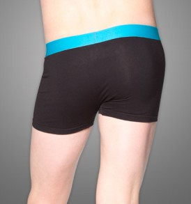 Flyfront Trunk – single pack – black/blue