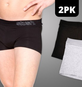 Mens Underwear Softband Trunk - 2 pack